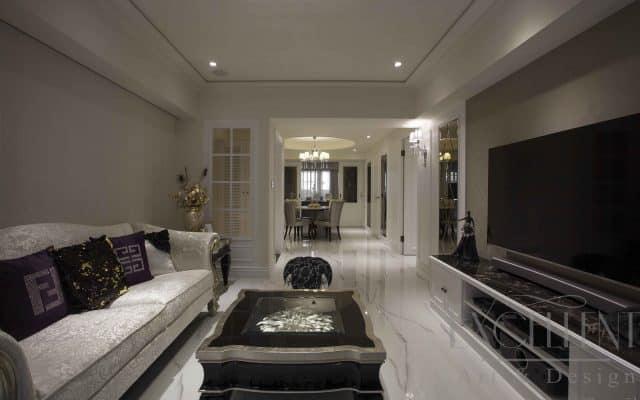 客、餐廳採開放方式規劃,利用仿大理石進口磚的地坪材質,優雅的圍塑公共廳區卓絕淡雅的氣度。